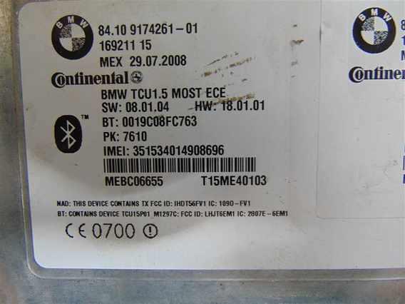 UNITATE BLUETOOTH BMW X5 diesel 2012 - Poza 2