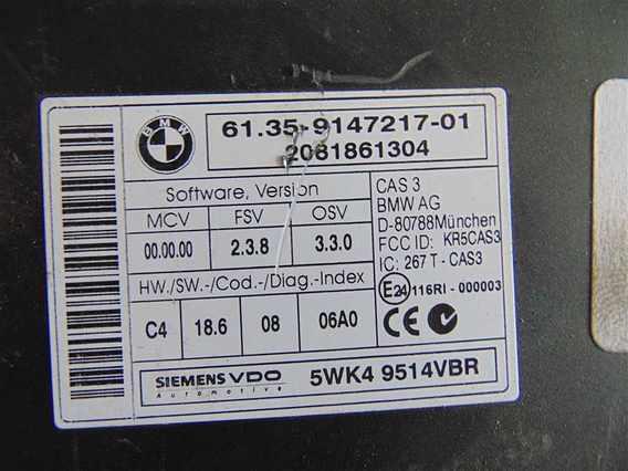 CALCULATOR ECU BMW X5 diesel 2012 - Poza 2