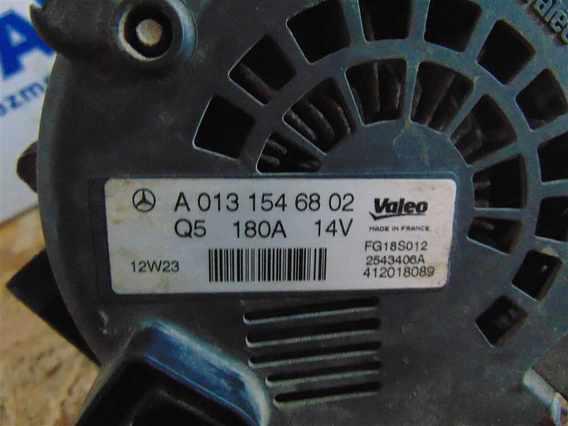 ALTERNATOR Mercedes Vito diesel 2011 - Poza 3