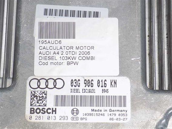 CALCULATOR MOTOR Audi A4 diesel 2006 - Poza 3