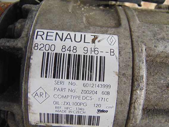 COMPRESOR  AC Renault Master diesel 2016 - Poza 3