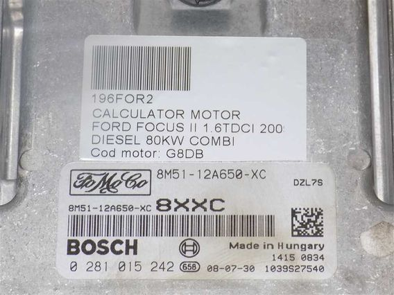 CALCULATOR MOTOR Ford Focus II diesel 2009 - Poza 3