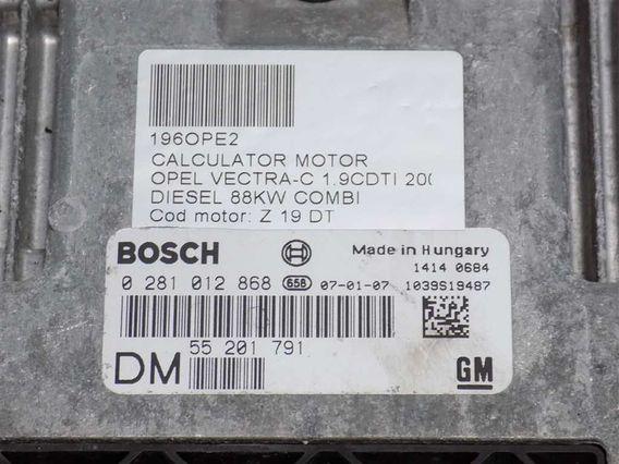 CALCULATOR MOTOR Opel Vectra-C diesel 2007 - Poza 3