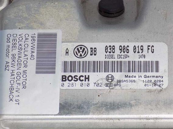 CALCULATOR MOTOR Volkswagen Golf-IV diesel 2001 - Poza 3
