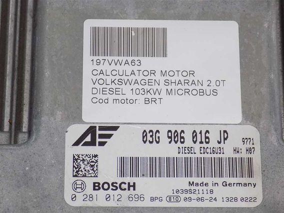 CALCULATOR MOTOR Volkswagen Sharan diesel 2009 - Poza 3