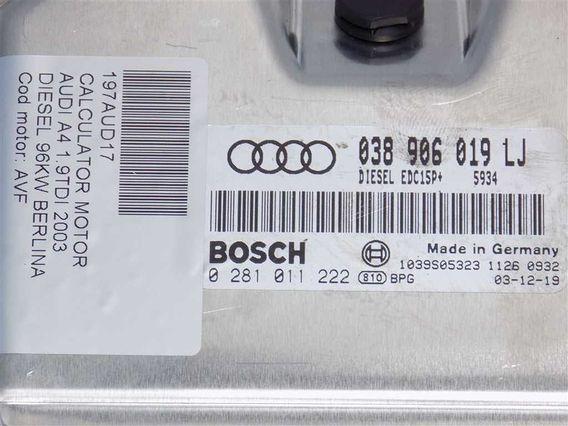 CALCULATOR MOTOR Audi A4 diesel 2003 - Poza 3