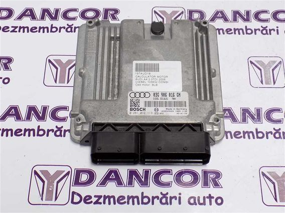 CALCULATOR MOTOR Audi A4 diesel 2006 - Poza 1