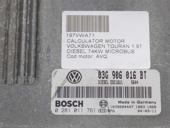 CALCULATOR MOTOR Volkswagen Touran diesel 2004 - Poza 3