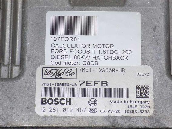 CALCULATOR MOTOR Ford Focus II diesel 2006 - Poza 3