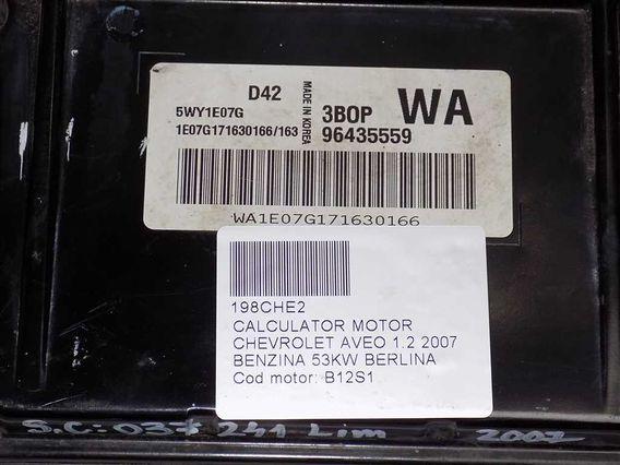 CALCULATOR MOTOR Chevrolet Aveo benzina 2007 - Poza 3