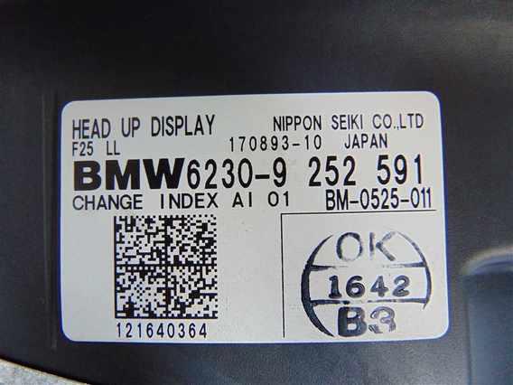 HEAD UP DISPLAY BMW X3 diesel 2012 - Poza 5
