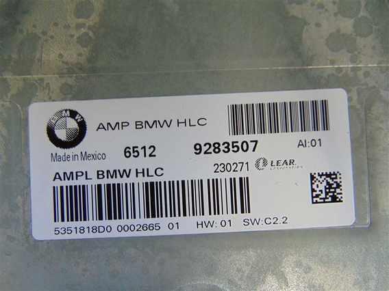 AMPLIFICATOR AUDIO BMW X3 diesel 2012 - Poza 3