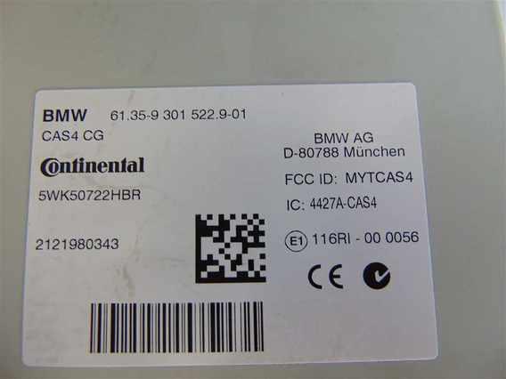 CAS4 BMW X3 diesel 2012 - Poza 3