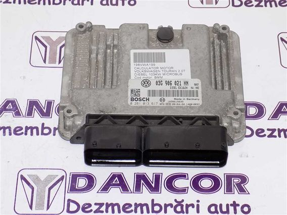 CALCULATOR MOTOR Volkswagen Touran diesel 2006 - Poza 1