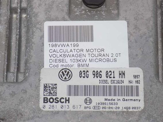 CALCULATOR MOTOR Volkswagen Touran diesel 2006 - Poza 3