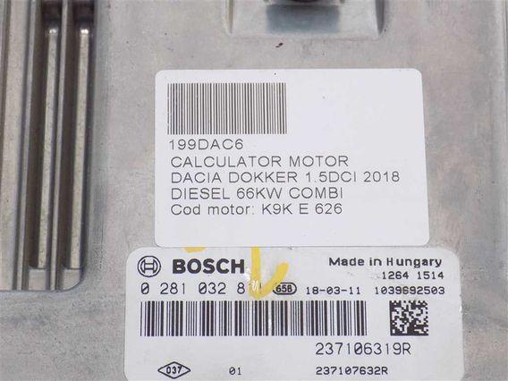 CALCULATOR MOTOR Dacia Dokker diesel 2018 - Poza 3