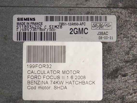 CALCULATOR MOTOR Ford Focus II benzina 2008 - Poza 3