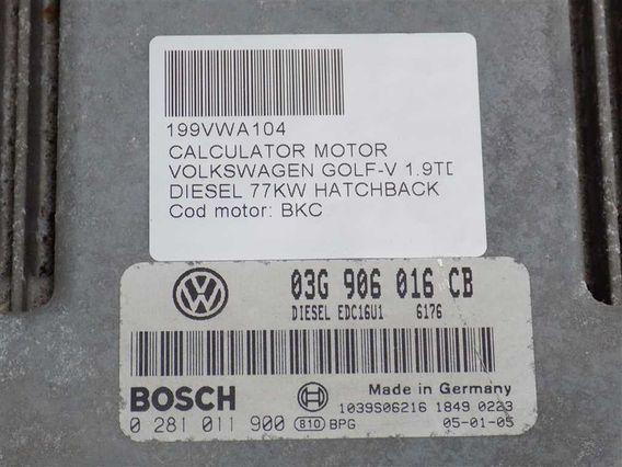 CALCULATOR MOTOR Volkswagen Golf-V diesel 2005 - Poza 3