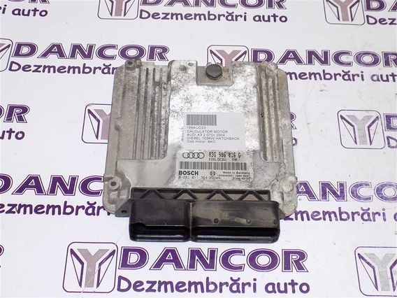 CALCULATOR MOTOR Audi A3 diesel 2004 - Poza 1