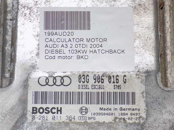 CALCULATOR MOTOR Audi A3 diesel 2004 - Poza 3