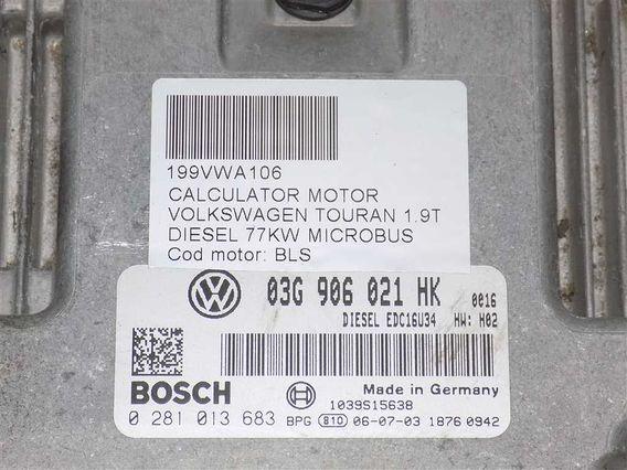 CALCULATOR MOTOR Volkswagen Touran diesel 2006 - Poza 3