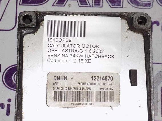 CALCULATOR MOTOR Opel Astra-G benzina 2002 - Poza 3